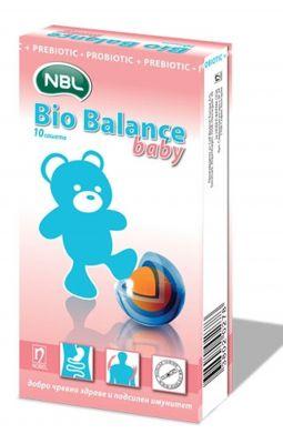 Био Баланс Бейби прахчета/ Bio Balance Baby 10 sache.