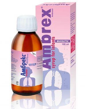 Амбрекс Педиатрик/Ambrex Pediatric 15mg/5ml 150ml syrup
