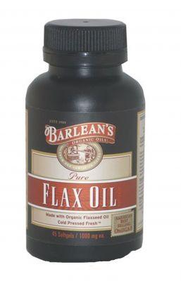 Барлийнс Ленено масло/Barlean's Flax oil 250caps. 100 caps. 45 caps.