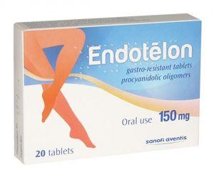 Ендотелон таблетки/Endotelon 150mg * 20 tabl.