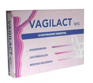 Вагилакт вагинални таблетки/Vagilact 10tabl.