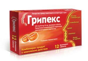 Грипекс таблетки/Gripex 12tabl.
