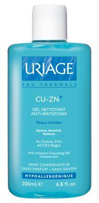 Уриаж Мед и цинк почистващ гел/Uriage Cu-Zn cleansing gel 200ml