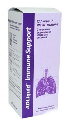 ЕД Ликуид Имуно Супорт сироп/ ADLiquid Immune support syrup 237ml