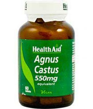 Агнус Кастус таблетки Хелт Ейд/Agnus Castus 550mg * 60tabl. Health Aid