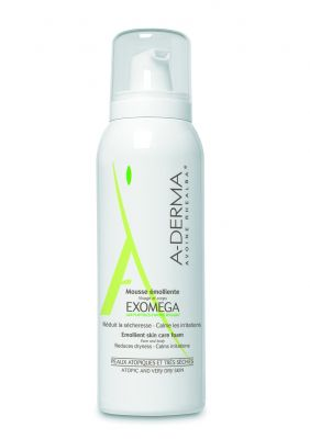 А-дерма Екзомега Пяна/ A-derma Exomega mousse 125ml