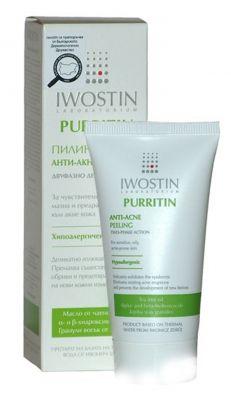 Ивостин Пуритин пилинг анти-акне/Iwostin Purritin anti-acne peeling 50ml