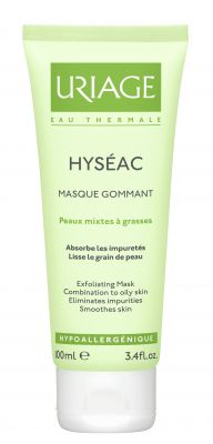 Уриаж Хисеак ексфолираща маска/Uriage Hyseac exfoliating mask 100ml
