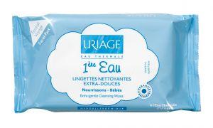 Уриаж почистващи кърпички/Uriage cleansing wipes 25 броя