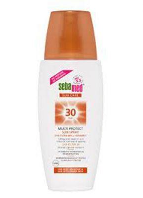 Себамед слънцезащитен спрей SPF30/Sebamed sun spray SPF30 150ml
