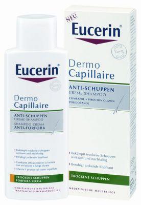 Еусерин крем шампоан против сух пърхот/Eucerin Dermo capillaire creme shampoo 250ml