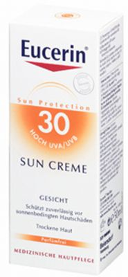 Еусерин слънцезащитен крем SPF30/Eucerin sun creme SPF30 50ml