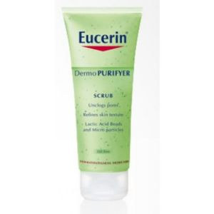 Еусерин Дермо пурифайър ексфолиращ гел/Eucerin Dermo Purifyer scrub 100ml