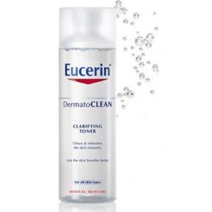 Еусерин ДерматоКлиин почистващ тоник/Eucerin DermatoClean toner 200ml