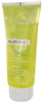 Клоран енергизиращ душ-гел/Klorane gel douche 200ml