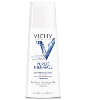 Виши Пюрете термал мляко 3в1/Vichy Purete Thermale milk 3in1 200ml