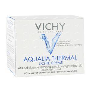 Виши Аквалия термал 48ч лек крем/Vichy Aqualia Thermal 48h light creme 50ml