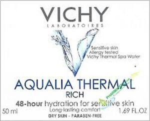 Виши Аквалия термал 48ч богат крем/Vichy Aqualia thermal 48h rich creme 50ml