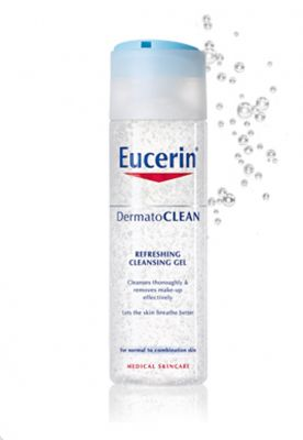 Еусерин ДерматоКлиин мицеларен разтвор 3в1/Eucerin DermatoClean micellar cleansing fluid 3in1 200ml