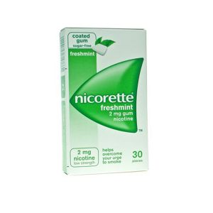 Никорет дъвки/Nicorette mint 2mg * 30