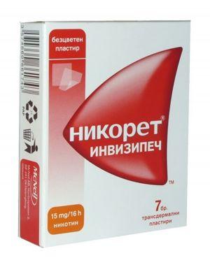 Никорет пластири/Nicorette 15mg * 7