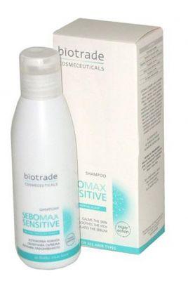 Биотрейд Себомакс Сензитив шампоан/Biotrade Sebomax Sensitive shampoo 125ml