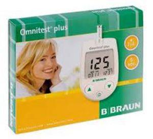 Браун Омнитест Плюс глюкомер/Braun Omnitest Plus blood monitoring glucose system