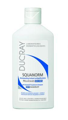 Дюкре Скванорм шампоан за сух пърхот/Ducray SQUANORM shampoo dry dandruff 200 ml