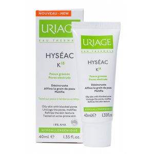 Уриаж Хисеак К18 с АНА крем/Uriage Hyseac K18 with AHA cream 40ml