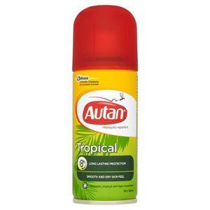 Аутан Тропикал сух спрей/Autan Tropical dry spray 100ml