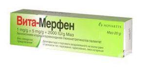 Вита-Мерфен унгвент/Vita-Merfen oinment 20g