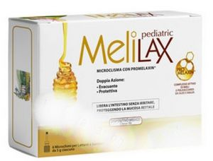 Абока Мелилакс микроклизма/Aboca Melilax pediatric 6бр. * 5гр.