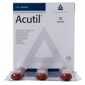 Акутил капсули/Acutil 30caps