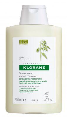 Клоран шампоан Овес/Klorane shampoo Avoine 200ml 400ml