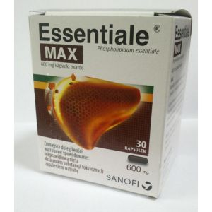 Есенциале макс/Essentiale max 600mg * 30caps