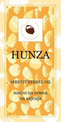 ХУНЗА масло от семки на кайсия/HUNZA 30ml  ЖЪЛТА
