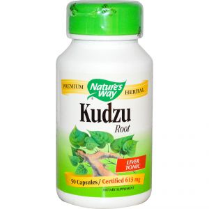 Кудзу (корен)/Nature's Way Kudzu 613mg * 50caps.