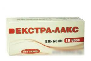 Екстра Лакс бонбони без захар/Extra lax 10br.