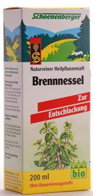 Био сок от коприва/Shoenenberger Brennnesel 200ml