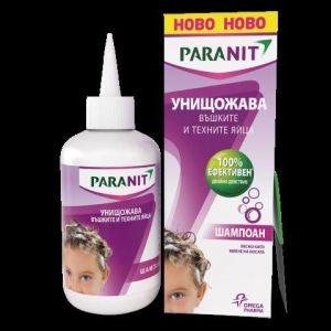 Паранит шампоан/Paranit shampoo 200ml