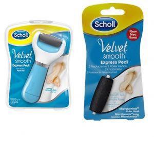 Scholl Velvet пълнител за автоматична пила за стъпала