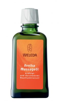 Веледа Масажно масло с арника/Weleda Arnika Massageöl 100ml