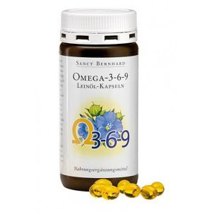 Sanct Bernhard Flax Oil Omega 3-6-9 180caps.