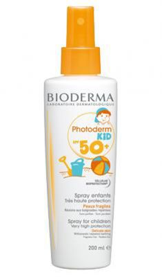 Биодерма Фотодерм Кидс спрей/Bioderma Photoderm KID spray SPF50+ 200ml