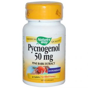 Пикногенол/Nature's Way Pycnogenol 50mg * 30tabs.