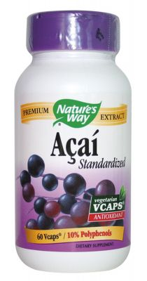 Акай/Nature's Way Acai 520mg * 60 caps