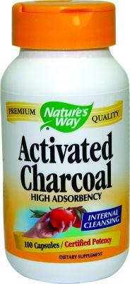 Активен въглен/Activated Charcoal 280mg * 100caps.